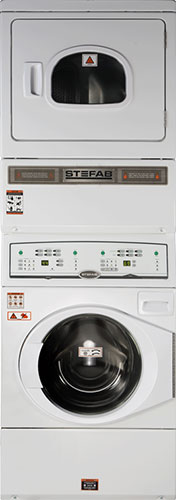 Stack Washer-Dryer. High Spin.