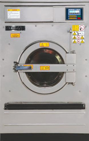 Washer Extractors.  Medium Spin. Hard Mount.