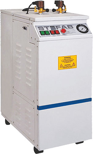 Steam Generators. Electric, Portable and Fully Automatic.