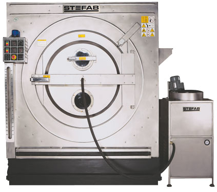 Apparel Processing Machine with Resin Spray Attachment & Low Spin Extract.