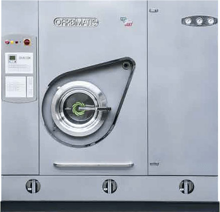 Firbimatic, Italy, Dry-to-Dry, Perc Drycleaning Machines.